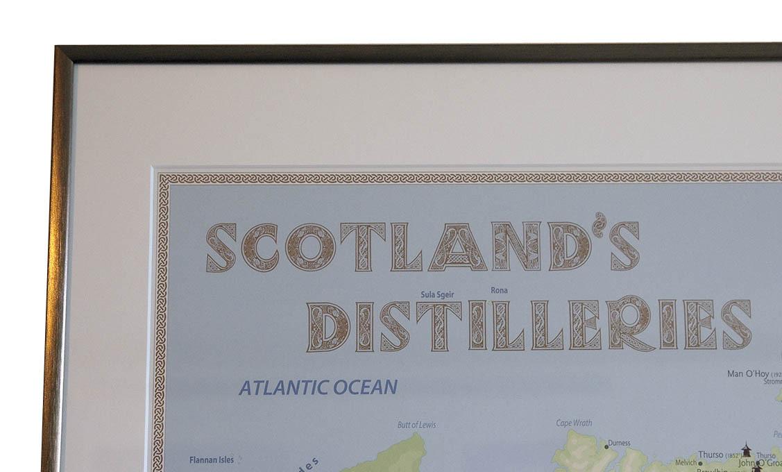 whiskydestillerier i scotland