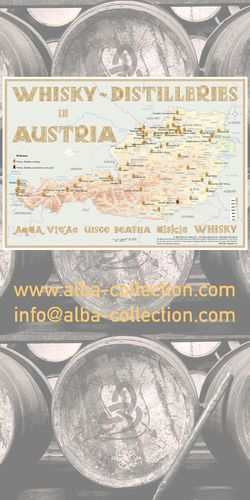 Whisky Distilleries Austria - RollUP 200x100cm