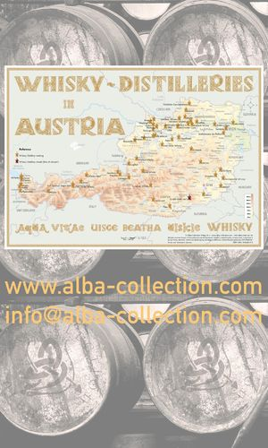Whisky Distilleries Austria - RollUP 200x120cm