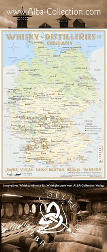 Whisky Distilleries Germany - RollUP 200x85cm