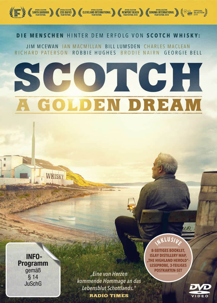 Dvd Scotch A Golden Dream