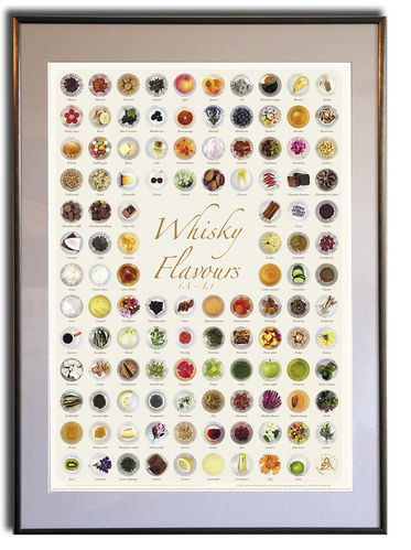 Whisky Flavours Collection 1 - Rahmen 50x70cm
