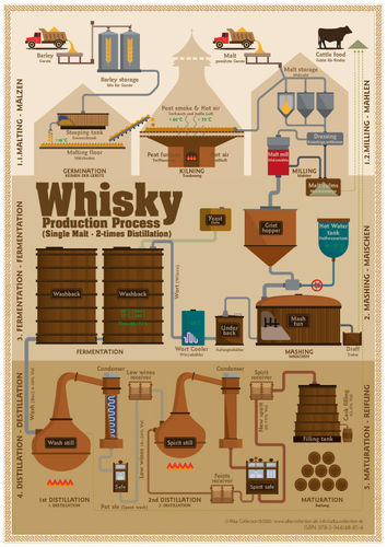 Whisky Production Process - Tasting Map